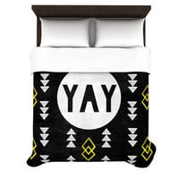 KESS InHouse Yay Duvet Cover Collection