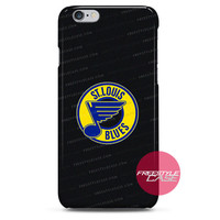 St Louis Blues Hockey In Black iPhone Case Cover Series