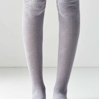 Out From Under Ruffled Cuff Thigh High Sock - Urban Outfitters