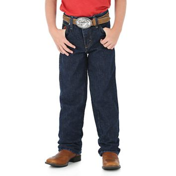 Boy's Wrangler® 20X® Relaxed Fit Jean (8-16)