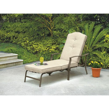 Mainstays Warner Heights Chaise Lounge