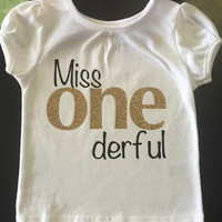Miss ONEderful first birthday TOP