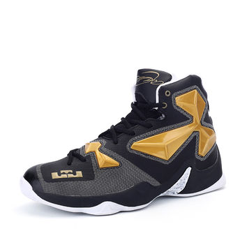 Sport Shoes Men Leather Brand Sneaker Shoes Men Cheap Mens Basketball Shoes Good Quality Men Basketball Sneakers