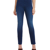 NYDJ Petite Evie Pull-On Leggings - Blue