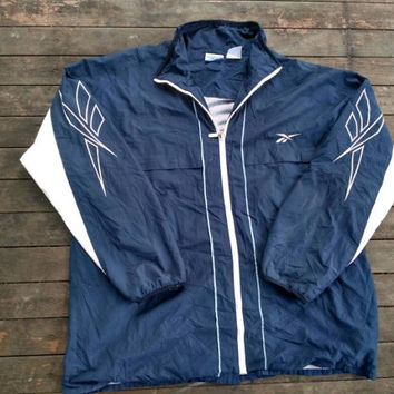 Reebok windbreaker sports wear vintage design hip hop