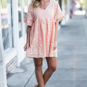 Southern Dreaming Dress, Sherbert