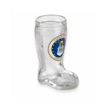 US Air Force Mini Boot Shot Glass - Etching Personalized Gift Item