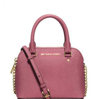 Michael Michael Kors Cindy Mini Saffiano Crossbody