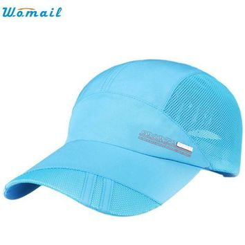 VONG2W Superior Adult Mesh Hat Quick-Dry Collapsible Sun Hat Sunscreen Baseball Cap MAY 31Jan 22