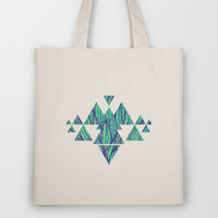 Natural leaves Tote Bag by Claudia Owen