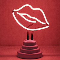 Lips Neon Sign Table Lamp | Urban Outfitters