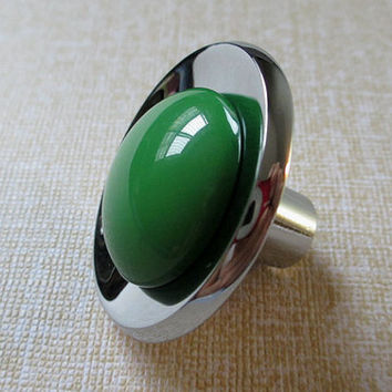 Green Knob Drawer Knobs / Glass Look Dresser Knob Pulls Handles White Silver Modern Kitchen Cabinet Knobs Colorful Knobs Furniture Hardware