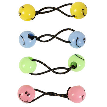 Smiley Face Hair Tie Set