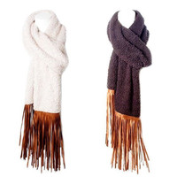 Judith March Scarf w/Fringe