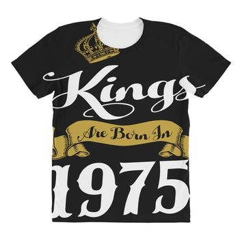 kings are born in 1975 All Over Women's T-shirt