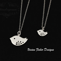 Mother Daughter Necklace Jewelry Set 14K Gold Filled - Vivian Feiler Designs | Wedding Jewelry |