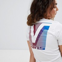 Vans 80S Back Print T-Shirt In White at asos.com