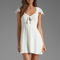 Lovers + Friends Party Time Dress in White from REVOLVEclothing.com