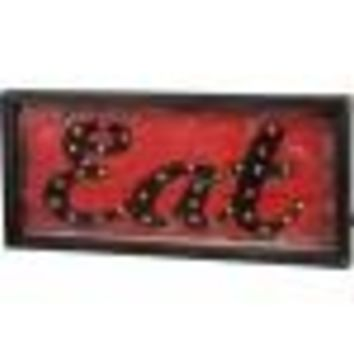 Eat LED Box Sign By Primitives By Kathy