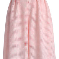 Candy Pink Culotte with Cutout Detail Pink S/M