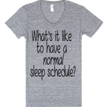 Sleep Problems-Unisex Athletic Grey T-Shirt