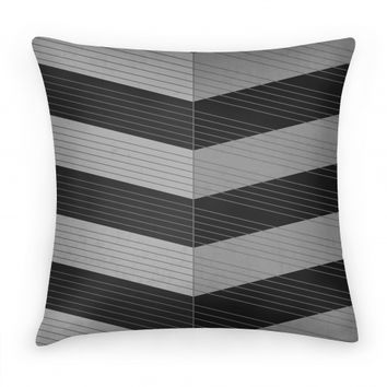 Stripes on Stripes Pattern (Black)