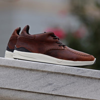 Diamond Supply Co. - Trek Low - Chocolate Aged Leather
