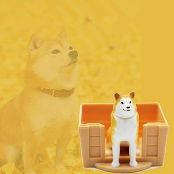 Super Lovely Shiba reborn Hachi Paw dog Animal Toy Action Figures Anime with Dogs House Waiting You Go Home Toys Figurines Gifts