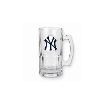 MLB Yankees 1-liter Glass Macho Tankard - Etching Personalized Gift Item