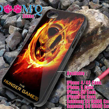 the hunger games logo iPhone case, iPhone 4/4S, 5, 5S, 5C Case, Samsung S3, S4 Case By Doomqcases for Accessories beautiful