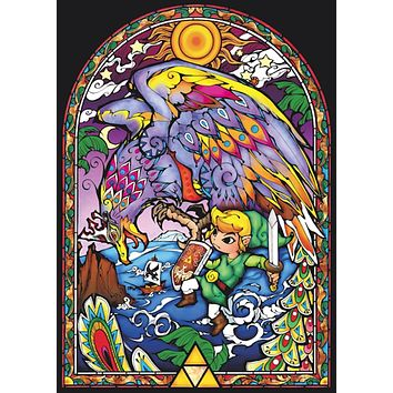 Legend of Zelda Wind Waker Window XL Giant Poster 39x55