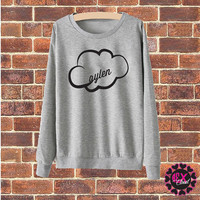 JC Caylen cloud grey sweater jumper pullover