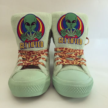 Get lifted handmade kicks