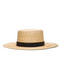 Janessa Leone Klint Hat in Natural | FWRD