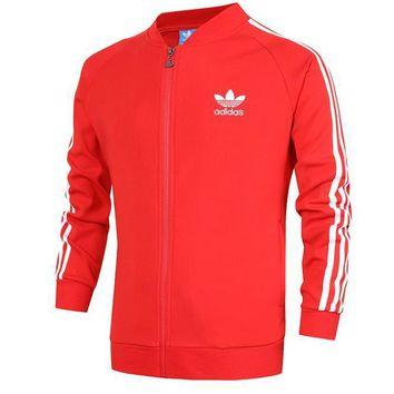 ADIDAS Women Men Cardigan Jacket Coat-2