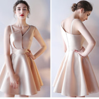 Cute party wedding dress homecoming dress