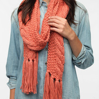 BDG Cable Knit Scarf