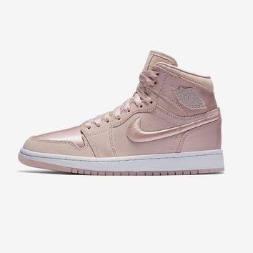 AA QIYIF WMNS Air Jordan 1 Retro High 'Season Of Her' - Silt Red