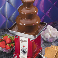 Nostalgia Electrics RFF500 Retro Series Chocolate Fondue Fountain