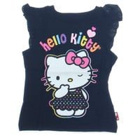 Hello Kitty Baby Girls Glitter Casual Top