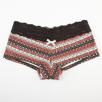Tribal Stripe Boyshorts Pink Combo  In Sizes