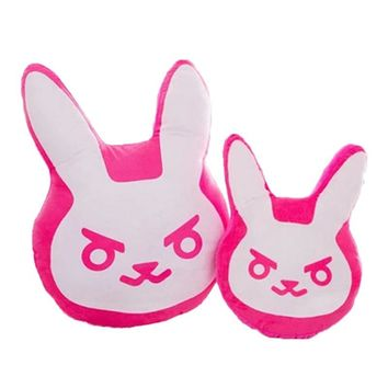 Overwatch Over watch Nerf 1pc 35cm/55cm es Game Plush Pillows Pioneer Dva Rabbit Plush Pillow Cushion Toys Soft Stuffed Animals Cosplay Kids Toys AT_83_8