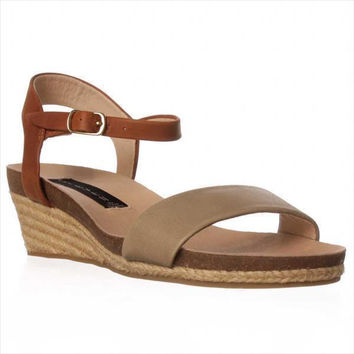 STEVEN by Steve Madden Joeii Wedge Espadrille Strap Sandals - Grey Multi
