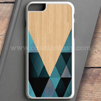 Wooden Geometric iPhone 6S Plus Case | casefantasy