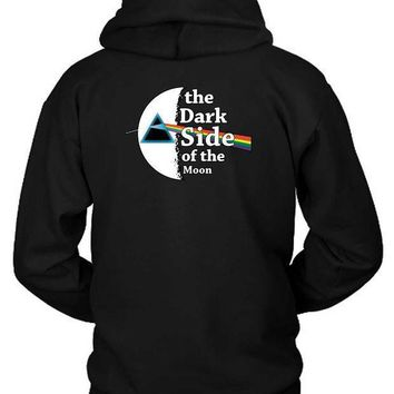 Pink Floyd The Dark Side Of The Moon Hoodie Two Sided