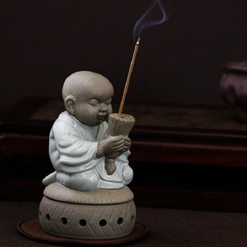 Ru Kozo porcelain incense burner