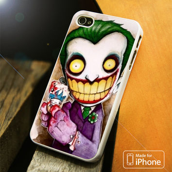 Emo Joker iPhone 4 5 5C SE 6 Plus Case