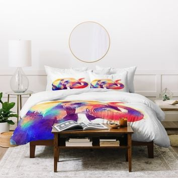 Jacqueline Maldonado The Majestic Duvet Cover
