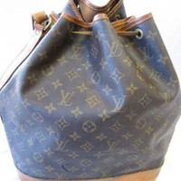 DCCK Authentic Vintage Louis Vuitton Monogram Canvas Drawstring Bucket Bag
