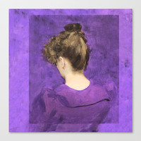 Violet Canvas Print by anipani